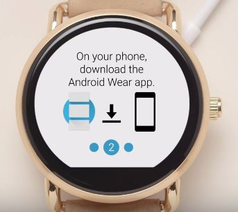 How to connect the Fossil Q smartwatch with iPhone