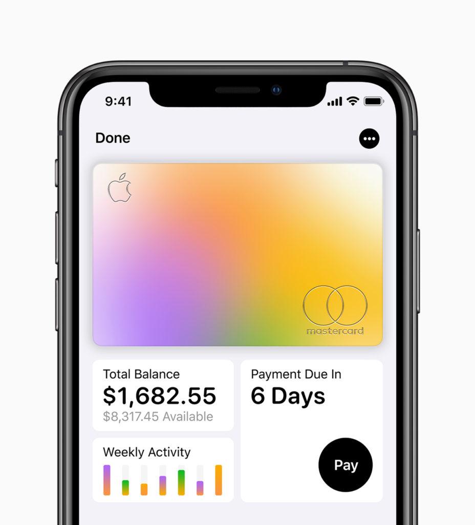 Apple Credit Card