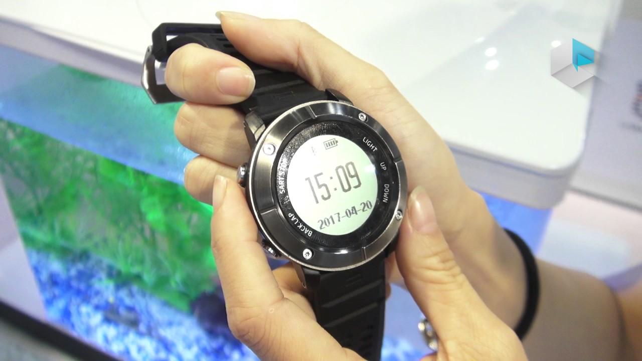 Hiking smartwatch Aiwako UW80