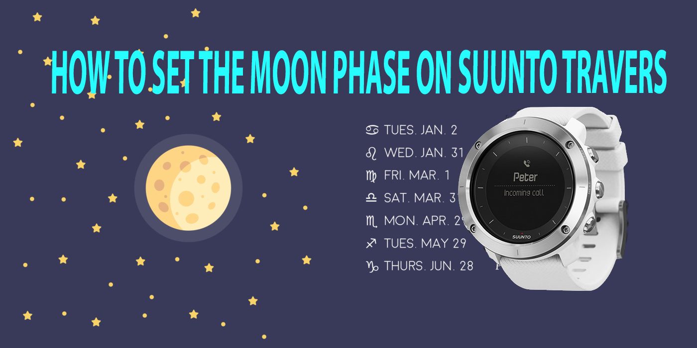 How To Set Moon Phase Watch Suunto Traverse Alpha Sreviews Black Outdoor Watches With Gps Glonass