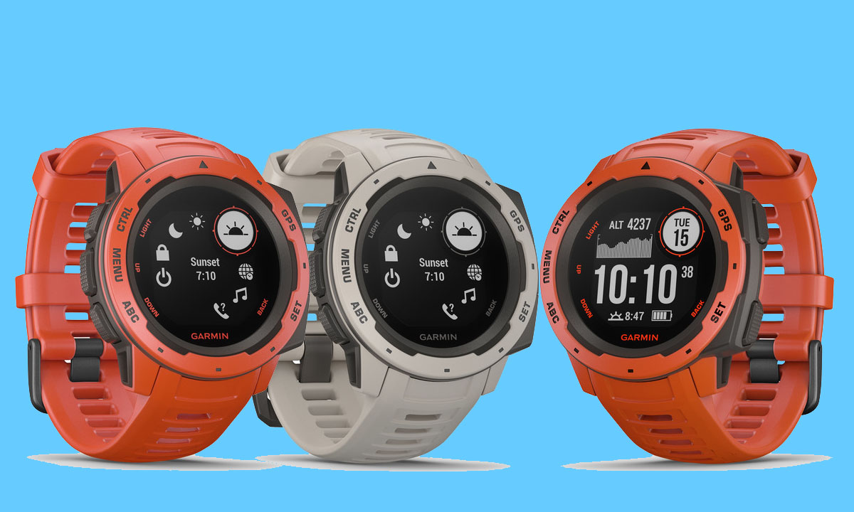 garmin instinct vs fenix 5
