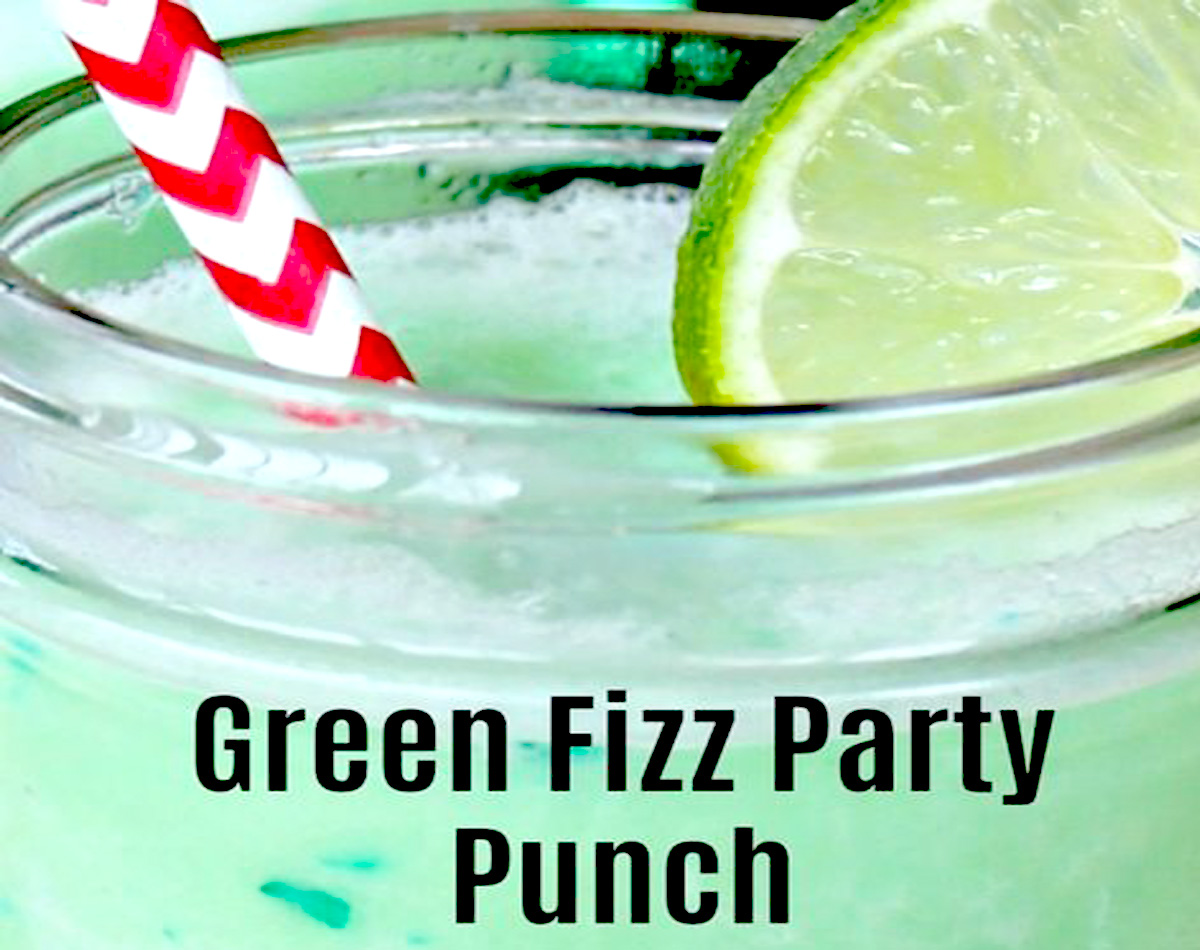 Green Fizz Party Punch