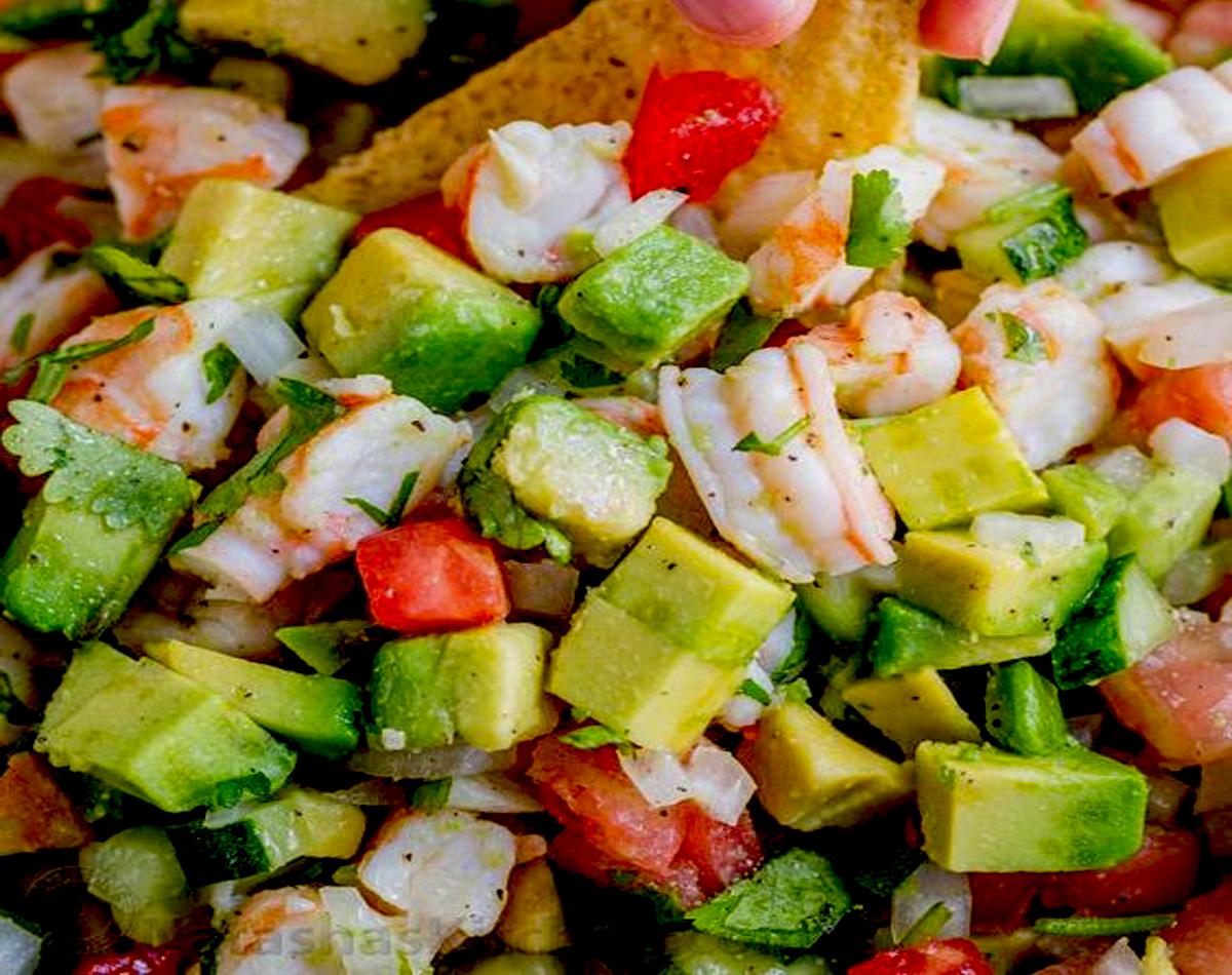 Shrimp Salsa With Avocado