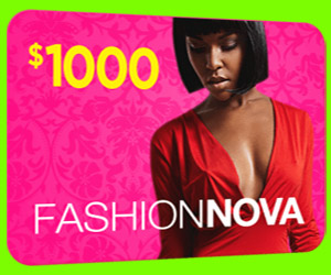 Get $1000 to Spend at Fashion Nova!