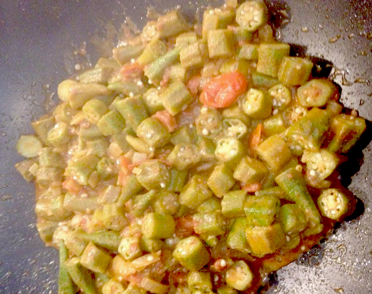 Okra Curry Recipe