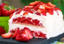 No Bake Strawberry Shortcake