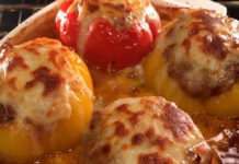 Lasagna stuffed peppers Recipe