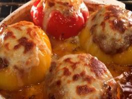Lasagna stuffed peppers Recipe