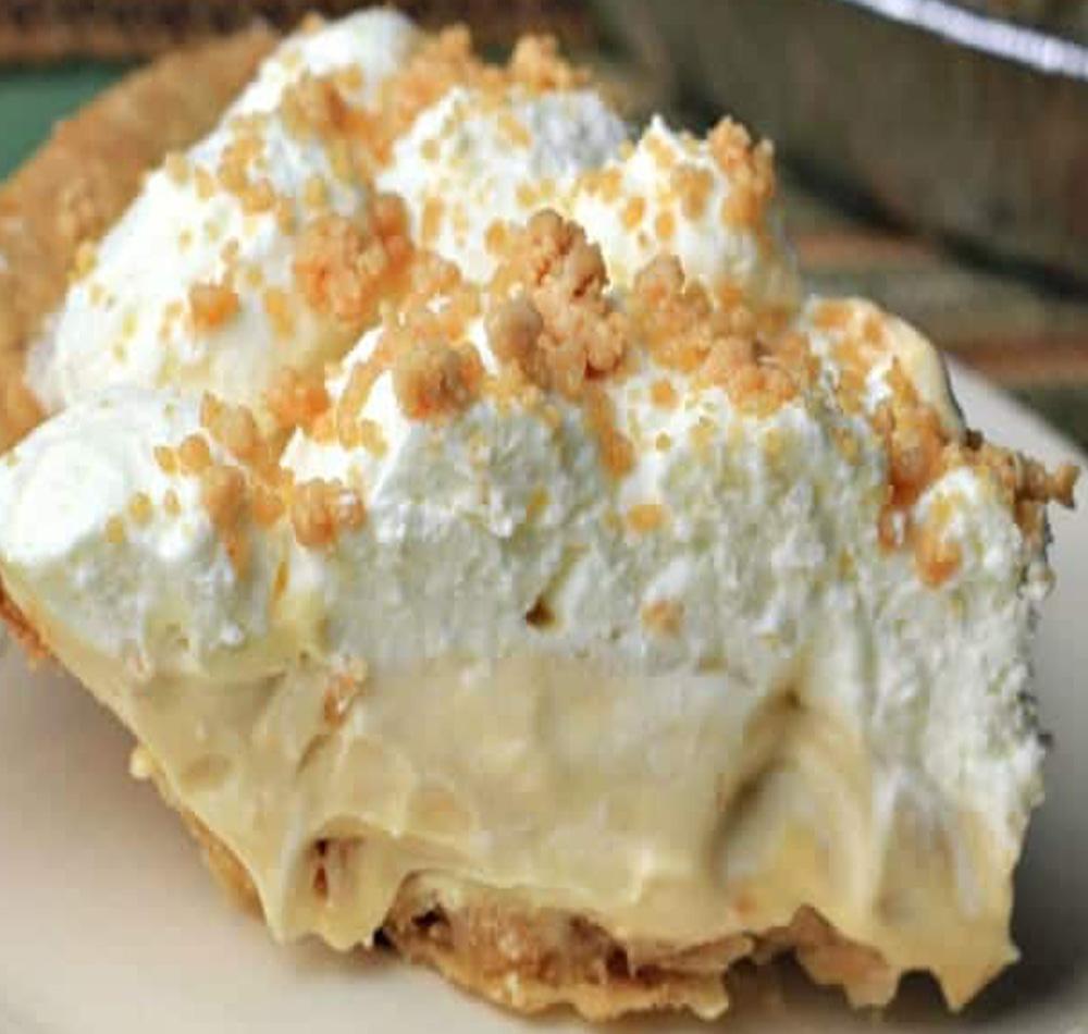 Amish Peanut Butter Cream Pie