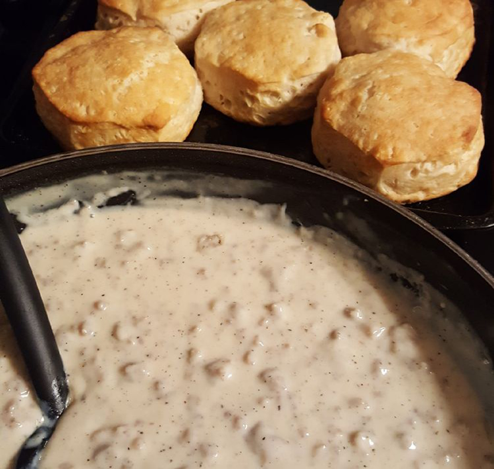 Best Biscuits and Gravy From Scratch