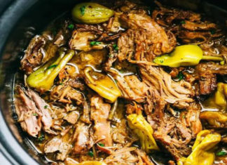 Slow Cooker Mississippi Pork