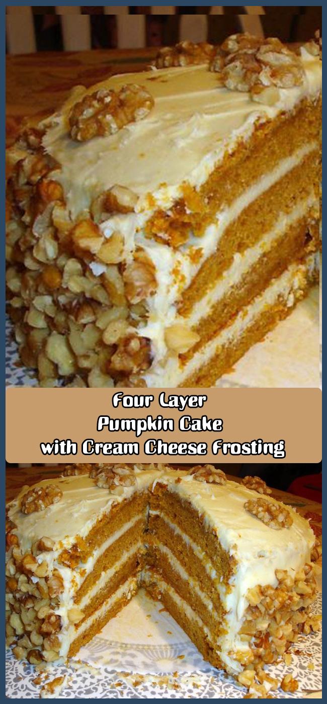 Four Layer Pumpkin Cake