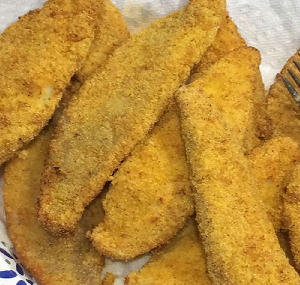 Air Fryer Southern Fried Catfish