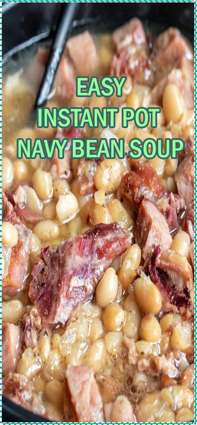 INSTANT POT NAVY BEAN SOUP