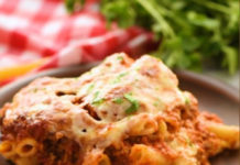 Baked Ziti with Shrimp Casserole