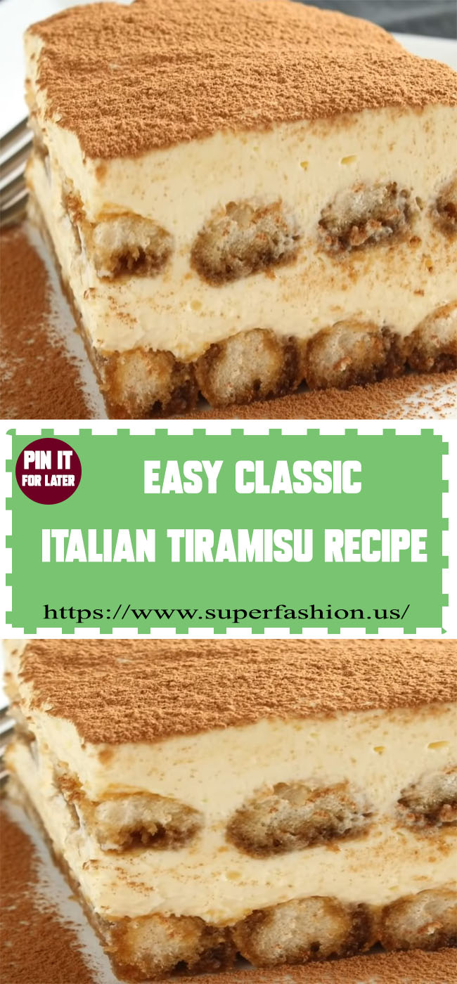 classic Italian Tiramisu