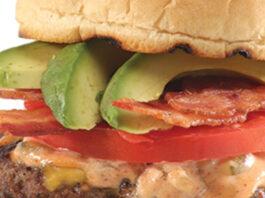 California avocado burger