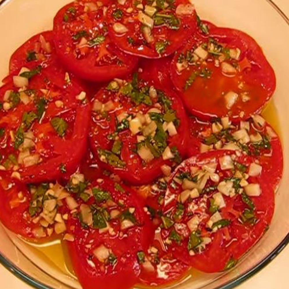 Italian Marinated Tomato Salad
