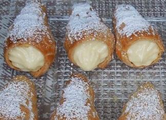 How to make Italian Cream Stuffed Cannoncini