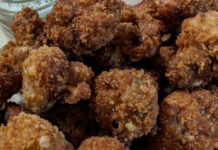 DEEP FRIED BREADED MUSHROOMS